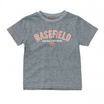 BASEFIELD T-Shirt mit Streifen - Navy Stripes