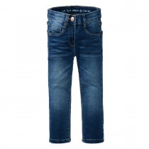 Mädchen Skinny Jeans - MIA Slim Fit - Mid Blue Denim