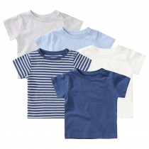 ORGANIC COTTON Baby T-Shirt 5er-Pack - Bunt