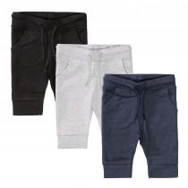 ORGANIC COTTON Sweatpants 3er-Packs - Bunt