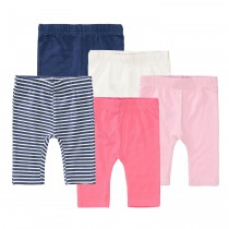 ORGANIC COTTON Baby Leggings 5er Pack - Bunt