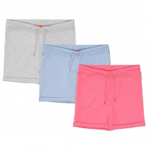 ORGANIC COTTON Sweatshorts 3er-Pack - Bunt