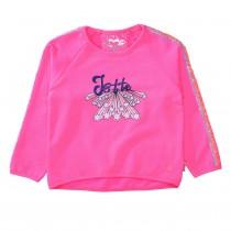 JETTE Sweatshirt mit Pailletten - Pink