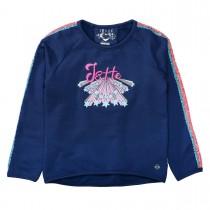 JETTE Sweatshirt mit Pailletten - Midnight