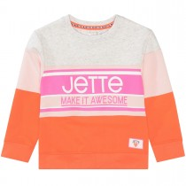 JETTE Boxysweat Make It Awesome - Bright Orange