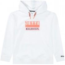 JETTE Hoodie mit Klett - White