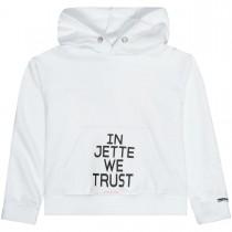 JETTE Kapuzenpullover Trust - White