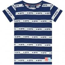 JETTE T-Shirt Streifen - Midnight