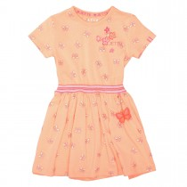 JETTE Kleid Schmetterling - Soft Orange Melange