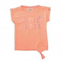 JETTE T-Shirt LOVE - Soft Orange