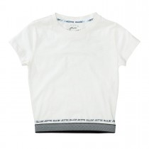 JETTE Cropped T-Shirt - Offwhite
