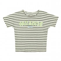 JETTE T-Shirt Streifen - Deep Sea