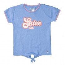 JETTE T-Shirt SHINE - Powder Blue