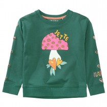 JETTE Sweatshirt PILZ - Evergreen