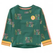 JETTE Sweatshirt LOVE - Evergreen