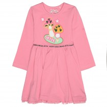 Kleid mit Applikation - Smartie Rose