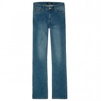 JETTE Bootcut-Jeans - Mid Blue Denim