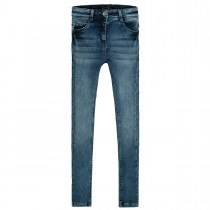 JETTE Skinny Jeans High-waist  - Mid Blue Denim