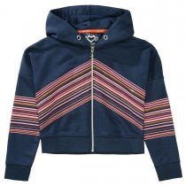 JETTE Sweatjacke Stripes - Winter Navy
