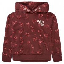 JETTE Hoodie TIME TO CHILL - Burgundy