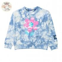 JETTE WENDEPAILLETTEN Sweatshirt - Blue Batik