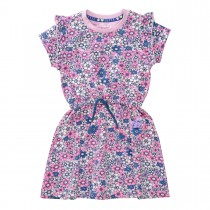 JETTE Kleid mit Bluemmuster - Lilac Rosy