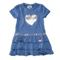 JETTE WENDEPAILLETTEN Kleid - Steel Blue