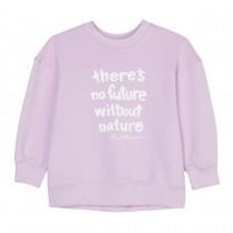 MARC O'POLO Sweatshirt mit Wording-Print - Lavender