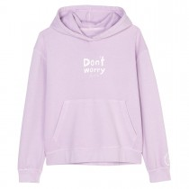 MARC O'POLO Hoodie mit Statement-Print - Lavender