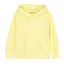 MARC O'POLO Hoodie mit Logo-Print - Bright Yellow