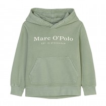 MARC O'POLO Hoodie mit Logo-Print - Green Bay