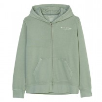 MARC O'POLO Kapuzensweatjacke mit Print - Green Bay