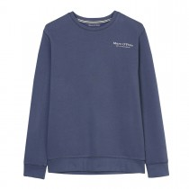 MARC O'POLO Sweatshirt aus Bio-Baumwolle - Washed Blue
