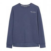 MARC O'POLO Sweatshirt aus Bio-Baumwolle - Washed Blue
