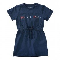 MARC O'POLO Kleid aus Bio-Baumwolle - Washed Blue