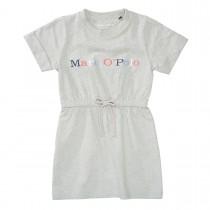 MARC O'POLO Kleid aus Bio-Baumwolle - Grey Melange