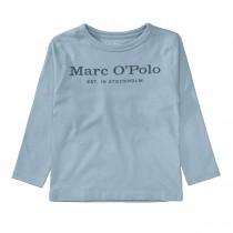 MARC O'POLO Longsleeve aus Bio-Baumwolle - Sky Blue
