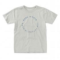 MARC O'POLO T-Shirt aus Bio-Baumwolle - Grey Melange