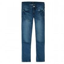 ATTENTION Mädchen Skinny Jeans - Light Blue Denim