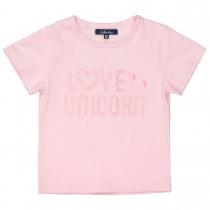ATTENTION T-Shirt mit Wording-Print - Powder