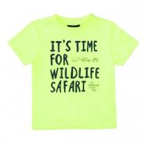 ATTENTION T-Shirt mit Wording-Print - Citrus