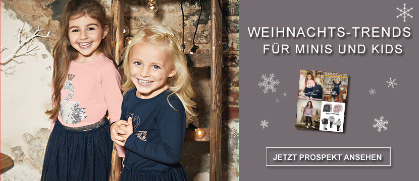 Staccato Kindermode Weihnachts-Trends